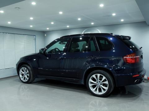 BMW X5 Bleu