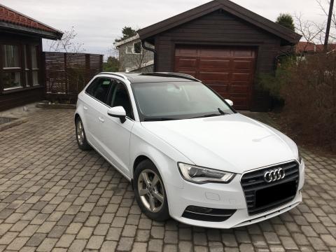 Audi Audi A3 diesel Blanche Audi A3 diesel Blanche Blanc