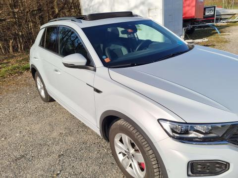 Volkswagen T-Roc 2.0 TSI Sport DSG 4Motion R-Line Blanc