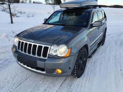 Jeep Grand Cherokee 3.0 Turbo V6 CRD OVERLAND Gris