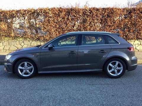 Audi Audi A3 Sportback 2,0 TDI Audi A3 Sportback   Gris