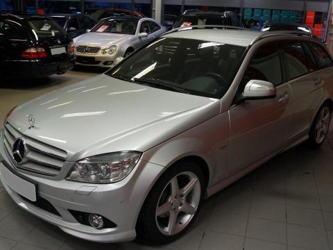 Mercedes-Benz Classe C AMG-Psensorer-Navi Cuir Avantgarde Argent