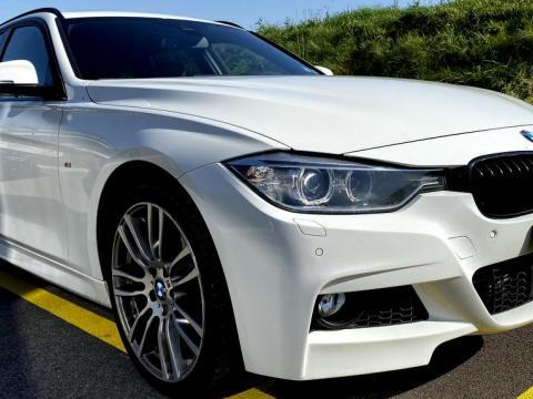 BMW 335d xDrive Break Blanc