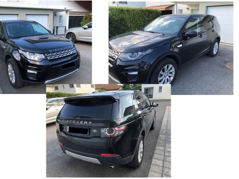 Land Rover Discovery Sport 2.0 TD4 HSE Noire