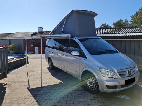 Mercedes-Benz Viano 3.0 CDI V6 Marco Polo Blue Efficiency Argent
