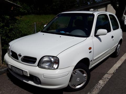 Nissan Micra 1.0 16V Blanc