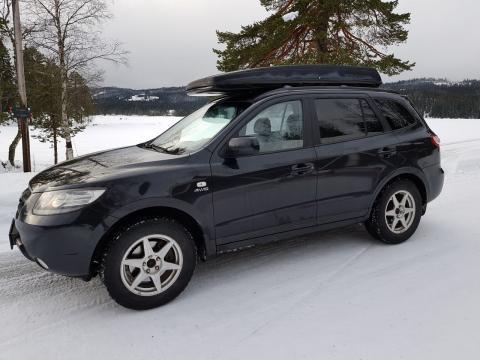 Volkswagen Don de voiture (Hyundai Santa Fe Diesel Automatique Noire ) Don de voiture (Hyundai Santa Fe Diesel Automatique Noire ) Noire