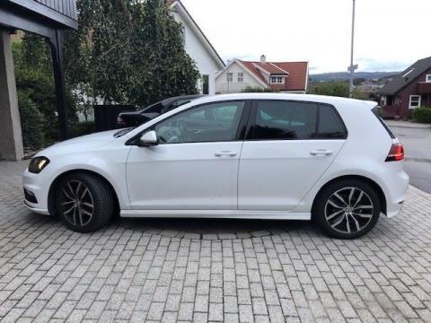 Volkswagen Volkswagen golf Volkswagen golf Blanc