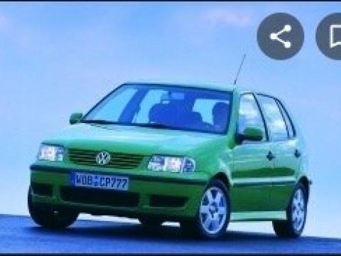 Volkswagen Polo Bleu