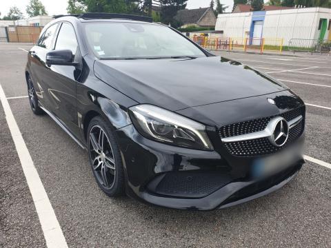 Mercedes-Benz CLASSE A 220  FASCINATION 4MATIC 7G-DCT Noire