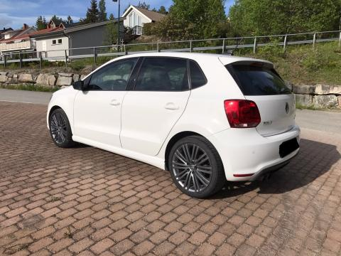 auto occasion volkswagen polo 1 9 tdi sline blanc grisons. Black Bedroom Furniture Sets. Home Design Ideas