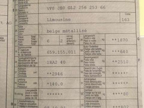 """Renault espace 3 """"evasion"""" édition évasion paris  Gris"""