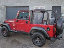 Jeep Wrangler Hard Top 2.5 SPORT Rouge