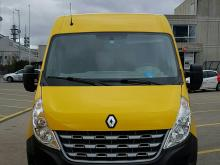 Renault Master 2,3 L, Diesel, automatique Jaune