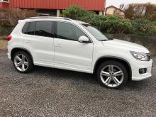 Volkswagen Tiguan 2,0 TDI Blanc