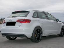 Audi A3  Audi A3 Sportback  2,0 TDI 150hk Ambition Blanc