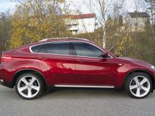 BMW X6 XDRIVE35IA 306 LUXE Rouge
