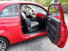 FIAT 500 1.2 8V 70 S/S LOUNGE Rouge