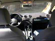 Audi A3 Duble clé tissu nickel Bleu